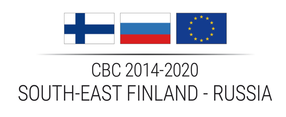 Logo of the The South-East Finland – Russia CBC 2014-2020 programme